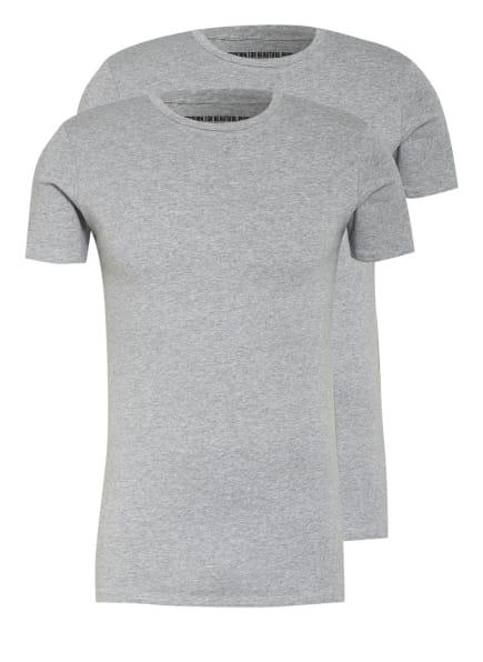 DRYKORN 2er-Pack T-Shirts CADAN, Farbe: GRAU (Bild 1)