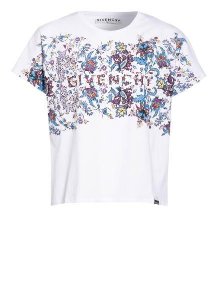 GIVENCHY T-Shirt, Farbe: WEISS/ BLAU/ LILA (Bild 1)