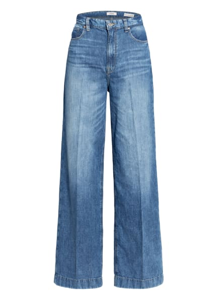 GUESS Flared Jeans, Farbe: LNND LINEN MID (Bild 1)