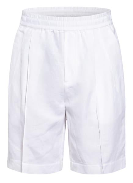 EMPORIO ARMANI Shorts mit Leinen , Farbe: WEISS (Bild 1)