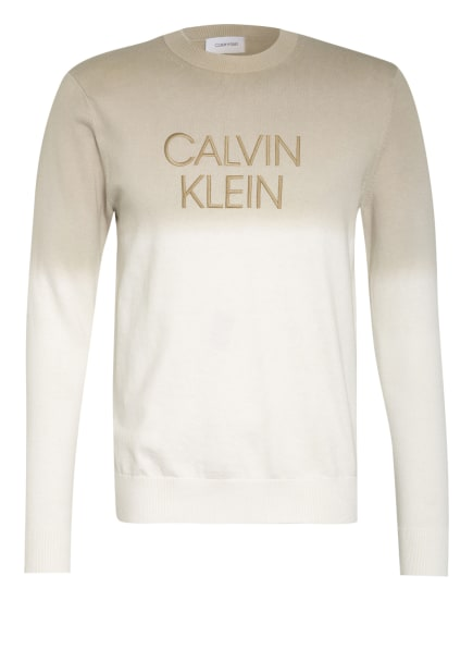 Calvin Klein Pulllover , Farbe: CREME/ BEIGE (Bild 1)