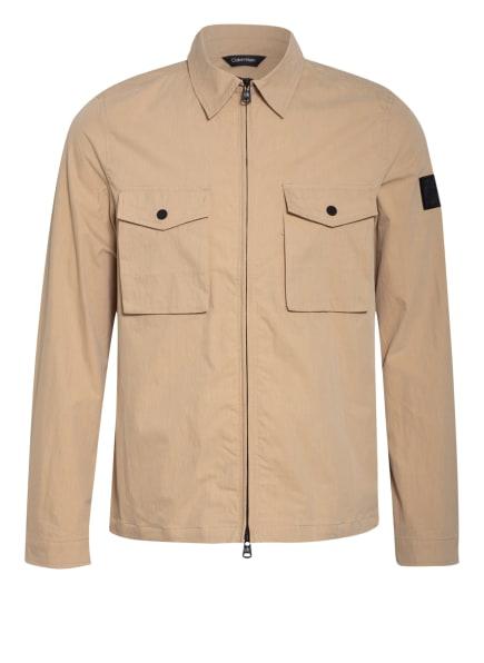 Calvin Klein Overjacket, Farbe: BEIGE (Bild 1)