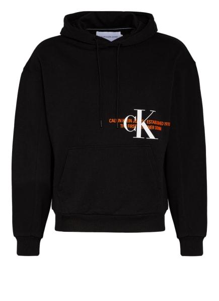 Calvin Klein Jeans Hoodie, Farbe: SCHWARZ (Bild 1)