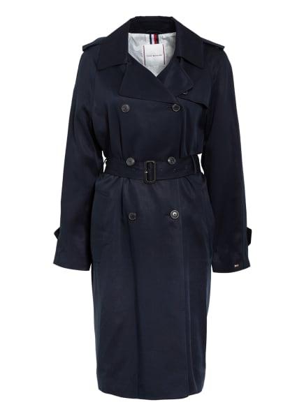 TOMMY HILFIGER Trenchcoat, Farbe: DUNKELBLAU (Bild 1)