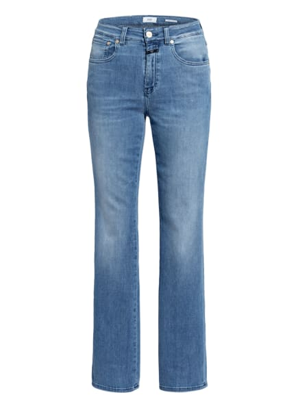 CLOSED Flared Jeans LEAF, Farbe: MBL MID BLUE (Bild 1)