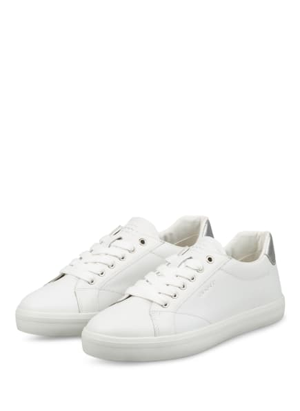 GANT Sneaker SEAVILLE , Farbe: WEISS/ SILBER (Bild 1)