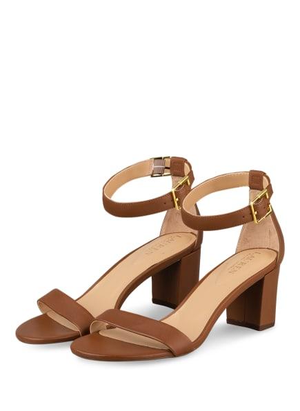 LAUREN RALPH LAUREN Sandaletten WAVERLI, Farbe: BRAUN (Bild 1)