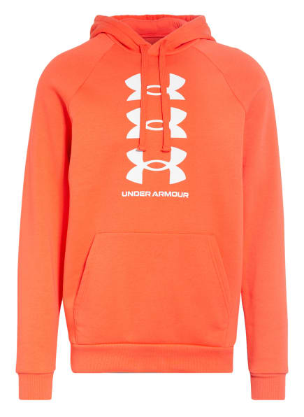 UNDER ARMOUR Hoodie RIVAL, Farbe: ROT (Bild 1)