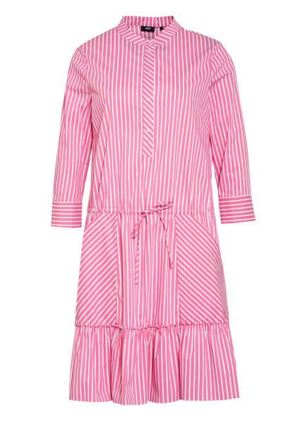 JOOP! Kleid DAFNE mit 3/4-Arm, Farbe: ROSA/ WEISS (Bild 1)