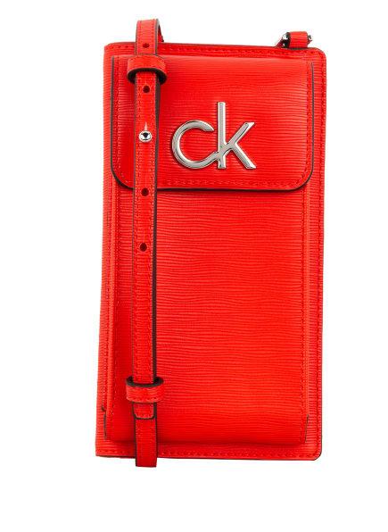 Calvin Klein Smartphone-Tasche, Farbe: ROT (Bild 1)