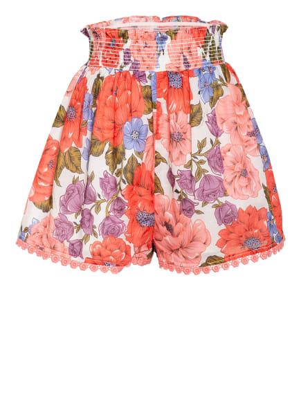 ZIMMERMANN Shorts , Farbe: WEISS/ ROT/ HELLLILA (Bild 1)