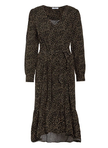 MOSS COPENHAGEN Kleid TALLA BEACH, Farbe: SCHWARZ/ HELLGELB (Bild 1)