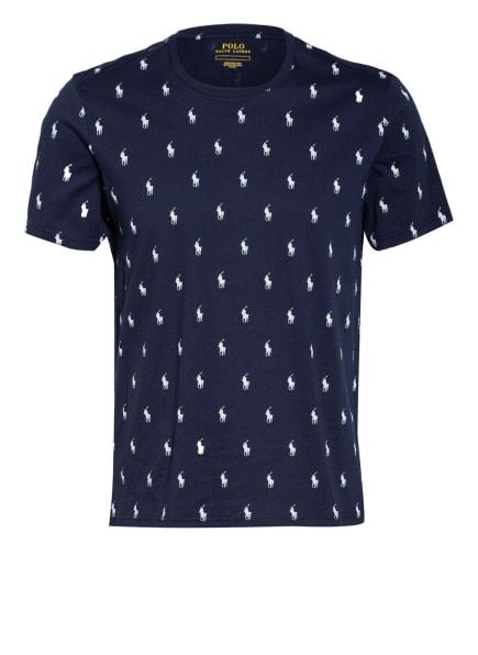 POLO RALPH LAUREN Lounge-Shirt , Farbe: DUNKELBLAU/ WEISS (Bild 1)