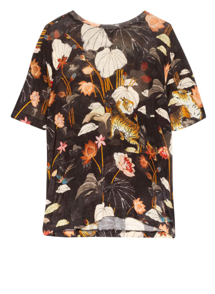 ETRO Strickshirt, Farbe: DUNKELBRAUN/ ECRU/ ROT (Bild 1)