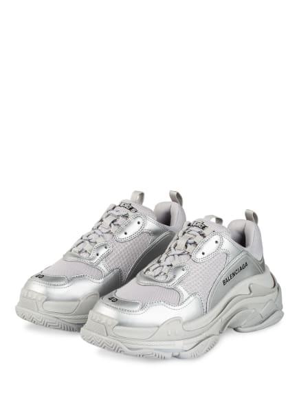 BALENCIAGA Sneaker TRIPLE S, Farbe: SILBER (Bild 1)