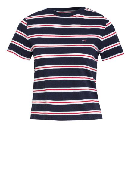 TOMMY JEANS T-Shirt, Farbe: DUNKELBLAU/ WEISS/ ROT (Bild 1)