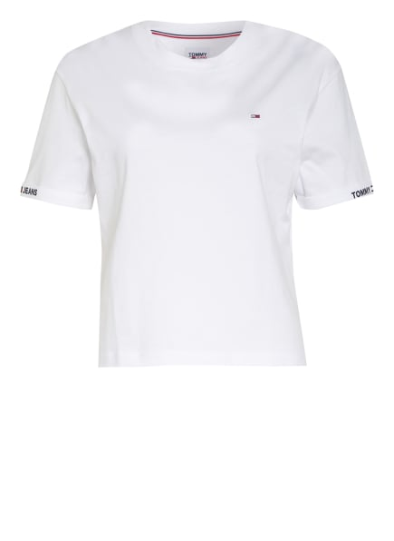 TOMMY JEANS Cropped-Shirt, Farbe: WEISS (Bild 1)