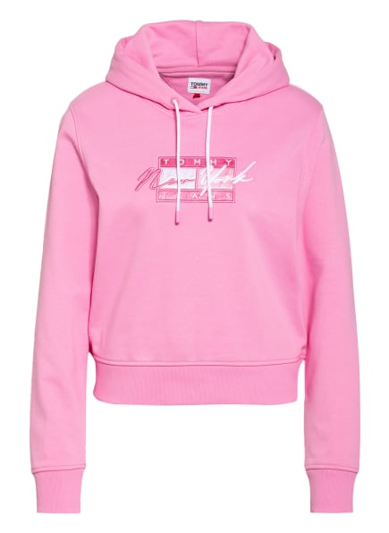 TOMMY JEANS Hoodie, Farbe: ROSA (Bild 1)
