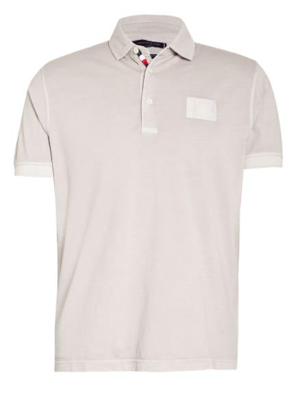 TOMMY HILFIGER Jersey-Poloshirt Regular Fit, Farbe: BEIGE (Bild 1)