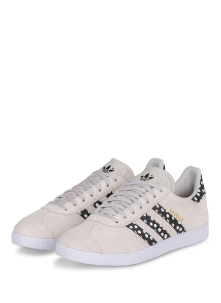 adidas Originals Sneaker GAZELLE, Farbe: BEIGE/ SCHWARZ/ WEISS (Bild 1)