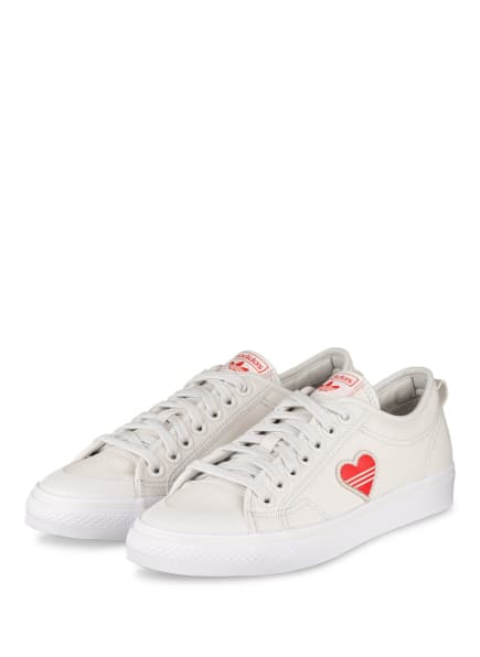 adidas Originals Sneaker NIZZA TREFOIL, Farbe: ECRU/ ROT (Bild 1)