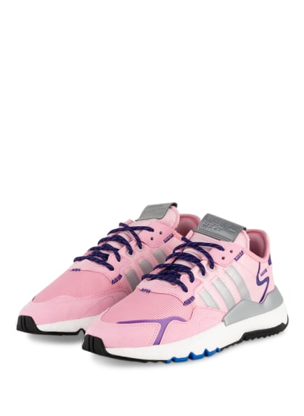 adidas Originals Plateau-Sneaker NITE JOGGER, Farbe: ROSA/ GRAU (Bild 1)
