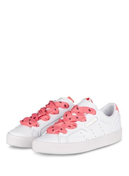 adidas Originals Sneaker SLEEK, Farbe: WEISS/ ROSÉ (Bild 1)