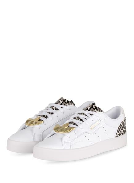 adidas Originals Sneaker SLEEK, Farbe: WEISS/ CREME/ SCHWARZ (Bild 1)