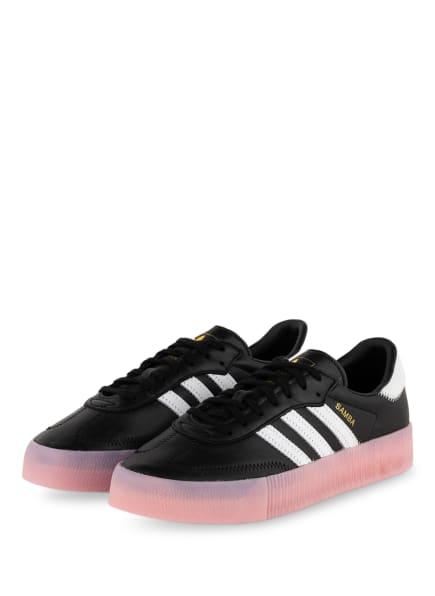 adidas Originals Sneaker SAMBAROSE, Farbe: SCHWARZ/ WEISS/ ROSA (Bild 1)