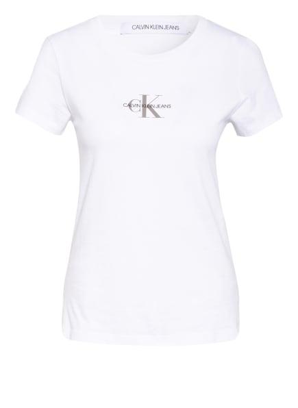 Calvin Klein Jeans T-Shirt , Farbe: WEISS (Bild 1)