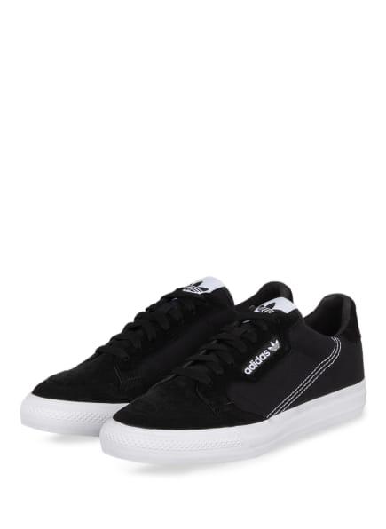 adidas Originals Sneaker CONTINENTAL VULC, Farbe: SCHWARZ (Bild 1)