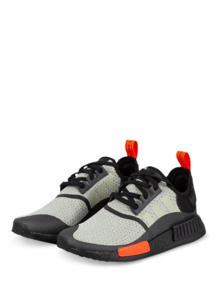 adidas Originals Sneaker NMD_R1, Farbe: HELLGRÜN/ SCHWARZ (Bild 1)