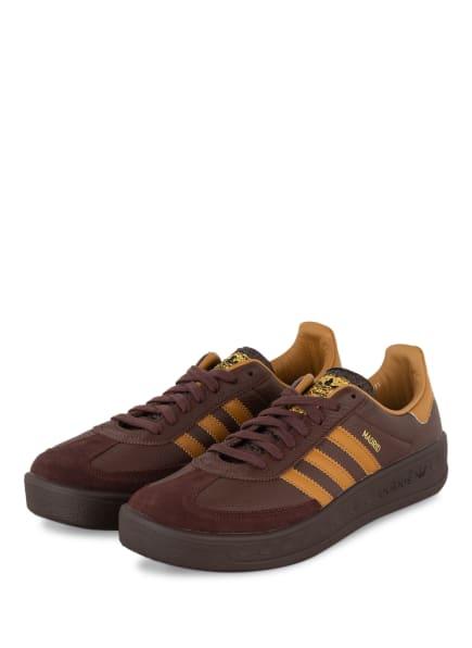adidas Originals Sneaker MADRID, Farbe: BRAUN/ DUNKELGELB (Bild 1)