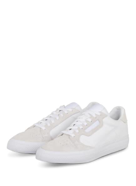 adidas Originals Sneaker CONTINENTAL VULC, Farbe: WEISS (Bild 1)