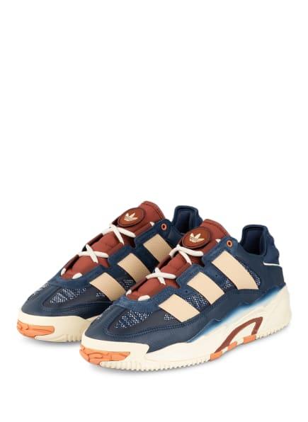 adidas Originals Sneaker NITEBALL, Farbe: DUNKELBLAU/ BEIGE (Bild 1)
