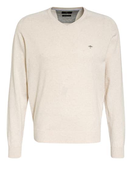 FYNCH-HATTON Pullover, Farbe: ECRU/ HELLGRAU (Bild 1)
