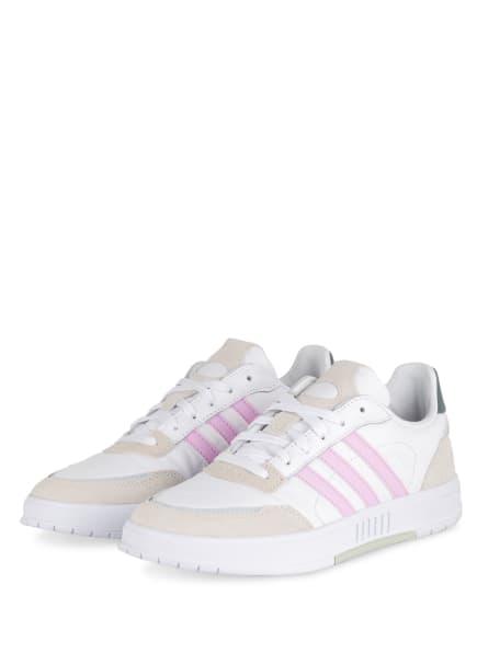 adidas Sneaker COURTMASTER, Farbe: WEISS/ ROSA/ BEIGE (Bild 1)