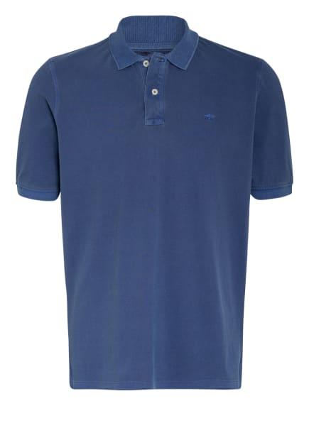 FYNCH-HATTON Piqué-Poloshirt, Farbe: DUNKELBLAU/ BLAU (Bild 1)