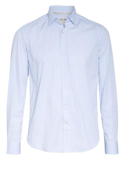 FIL NOIR Hemd ROMA Shaped Fit, Farbe: HELLBLAU/ WEISS (Bild 1)