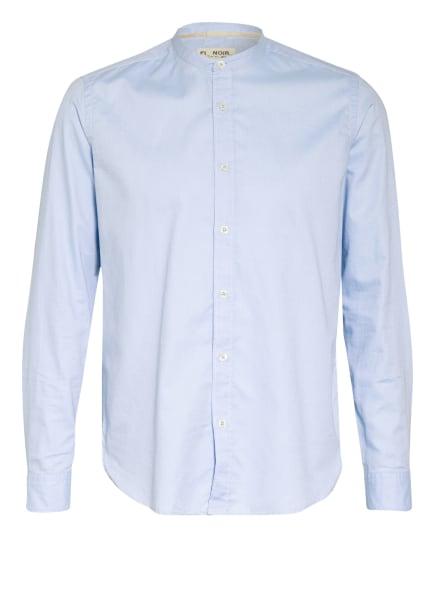 FIL NOIR Hemd ROYAL OXFORD Slim Fit mit Stehkragen, Farbe: HELLBLAU (Bild 1)