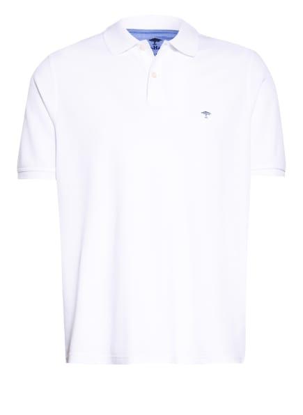 FYNCH-HATTON Piqué-Poloshirt, Farbe: WEISS (Bild 1)