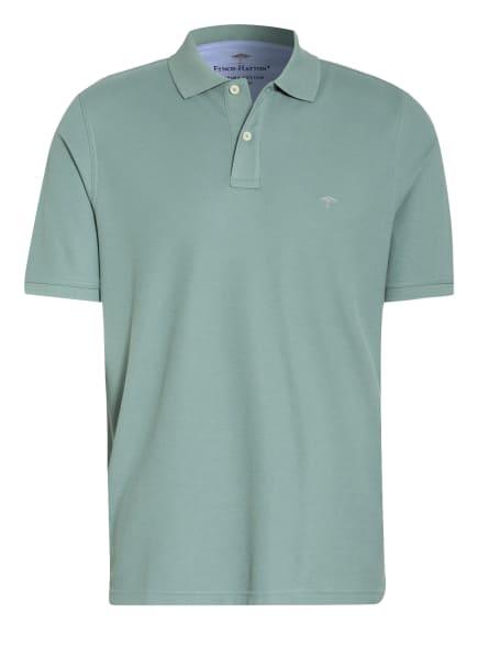 FYNCH-HATTON Piqué-Poloshirt Casual Fit, Farbe: PETROL (Bild 1)