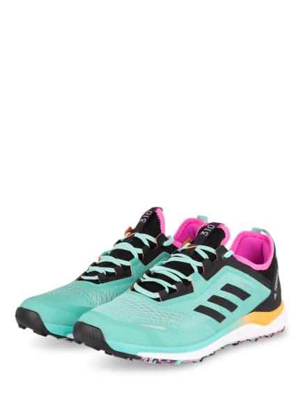 adidas Trailrunning-Schuhe TERREX AGRAVIC FLOW, Farbe: MINT/ SCHWARZ (Bild 1)