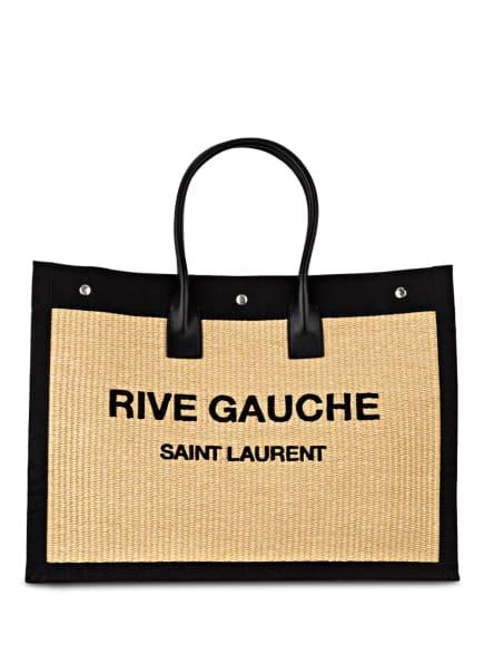 SAINT LAURENT Shopper RIVE GAUCHE NOE, Farbe: SCHWARZ/ BEIGE (Bild 1)