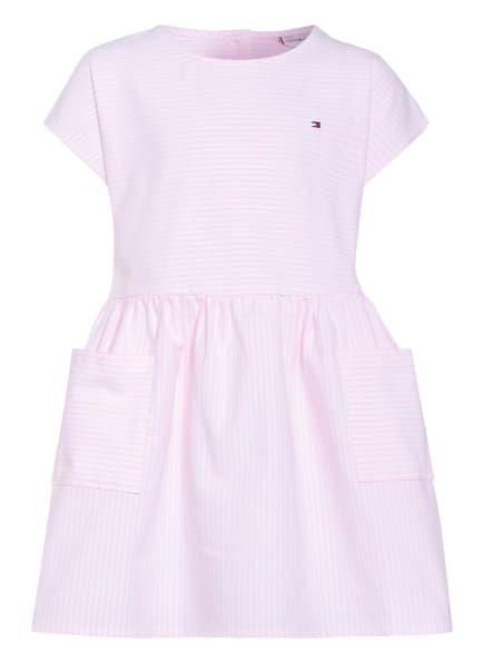 TOMMY HILFIGER Kleid, Farbe: ROSA/ WEISS (Bild 1)