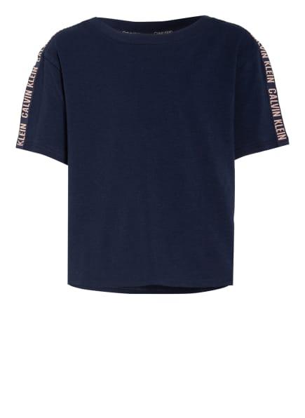 Calvin Klein Cropped-Shirt , Farbe: DUNKELBLAU (Bild 1)