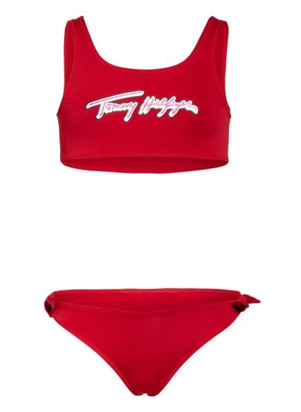 TOMMY HILFIGER Bustier-Bikini, Farbe: ROT (Bild 1)