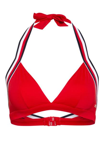 TOMMY HILFIGER Triangel-Bikini-Top , Farbe: ROT/ WEISS/ DUNKELBLAU (Bild 1)