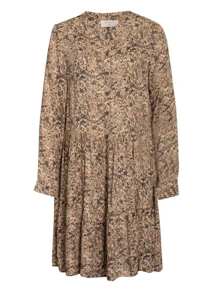 FREEQUENT Kleid FQADNEY, Farbe: HELLBRAUN/ KHAKI/ SCHWARZ (Bild 1)