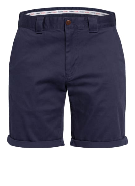 TOMMY JEANS Chino-Shorts SCANTON Slim Fit, Farbe: DUNKELBLAU (Bild 1)